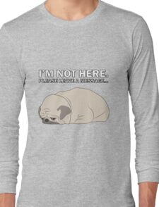 Sad pug Long Sleeve T-Shirt