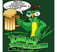 Tommy the Inulsting Parrot - Blarney Photographic Print