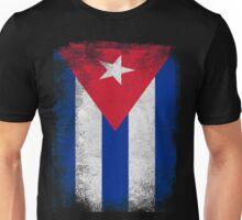 Cuba Flag Proud Cuban Vintage Distressed Unisex T-Shirt