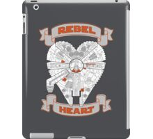 Rebel Heart - orange iPad Case/Skin