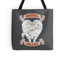 Rebel Heart - orange Tote Bag