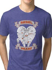 Rebel Heart - orange Tri-blend T-Shirt
