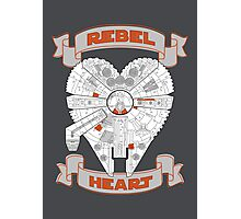 Rebel Heart - orange Photographic Print