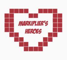 Markiplier's Heroes Kids Clothes