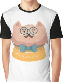 Christmas Cat Graphic T-Shirt