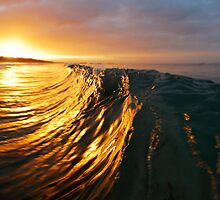 Wave at Sunrise by loveandwater