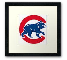 cubs chicago Framed Print