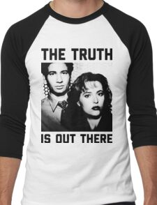 X-Files The Truth is out there Shirt Men's Baseball ¾ T-Shirt
