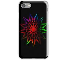Colorful Geometric Abstract Vector Star iPhone Case/Skin
