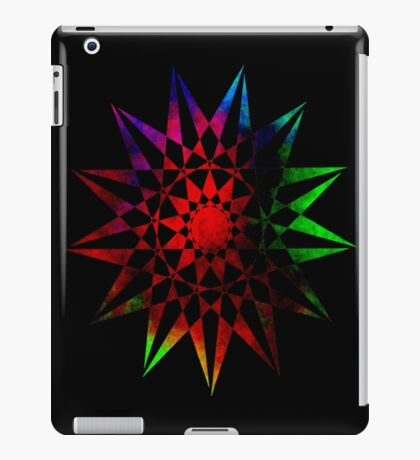 Colorful Geometric Abstract Vector Star iPad Case/Skin