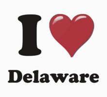 I Love Delaware by ColaBoy