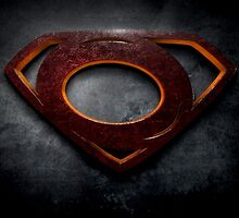 "The Letter O in the Style of ""Man of Steel"" by BigRockDJ"
