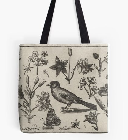 VINTAGE BIOLOGY PRINT Tote Bag