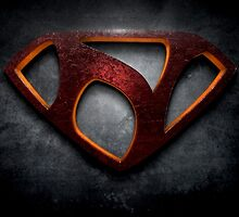 "The Letter N in the Style of ""Man of Steel"" by BigRockDJ"