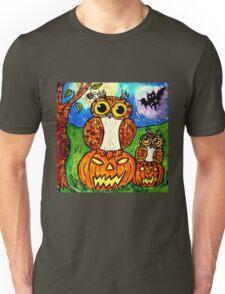 Chouette Halloween! Unisex T-Shirt