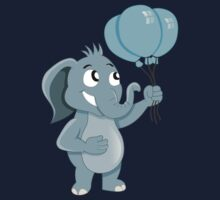 Cartoon elephant Kids Clothes