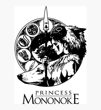 Studio Ghibli Mononoke Hime Shirt Photographic Print