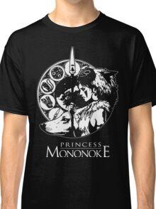 Studio Ghibli Mononoke Hime Black Shirt Classic T-Shirt