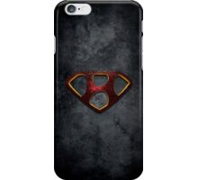 """The Letter H in the Style of """"Man of Steel"""" iPhone Case/Skin"""
