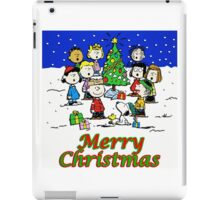 CHARLIE BROWN CHRISTMAS 20 iPad Case/Skin