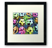 Flower Cupcakes Framed Print