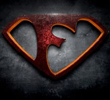 """The Letter F in the Style of """"Man of Steel"""" by BigRockDJ"""