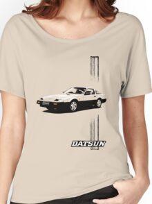 Datsun 300ZX Fairlady Nissan Z31 - Stripe Women's Relaxed Fit T-Shirt