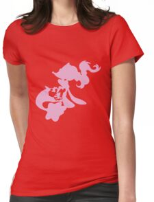 Popplio Evolution Womens Fitted T-Shirt