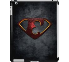 """The Letter E in the Style of """"Man of Steel"""" iPad Case/Skin"""