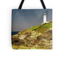 Trevose Head Lighthouse, Cornwall, UK ~ Atlantic Coast Tote Bag