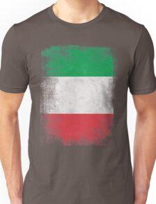 Italy Flag Proud Italian Vintage Distressed  Unisex T-Shirt