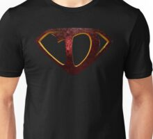 "The Letter D in the Style of ""Man of Steel"" Unisex T-Shirt"