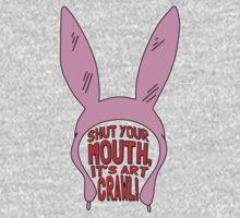 Shut Your Mouth It's Art Crawl T-Shirt