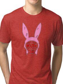 Shut Your Mouth It's Art Crawl Tri-blend T-Shirt