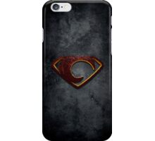 """The Letter C in the Style of """"Man of Steel"""" iPhone Case/Skin"""