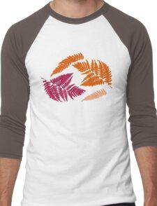 Polypodióphyta leaves Men's Baseball ¾ T-Shirt