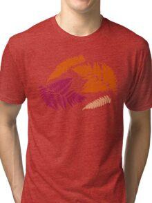 Polypodióphyta leaves Tri-blend T-Shirt
