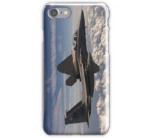 F-15 and F-22 in Flight iPhone Case/Skin
