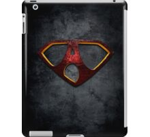 """The Letter A in the Style of """"Man of Steel"""" iPad Case/Skin"""