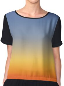 Sunset sky colors -  Chiffon Top