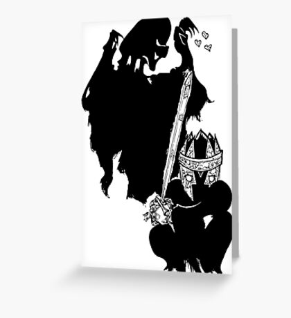 Dementor to Nazgul Greeting Card