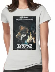 Aliens Japan Poster Womens Fitted T-Shirt