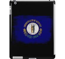 Kentucky State Flag Distressed Vintage  iPad Case/Skin