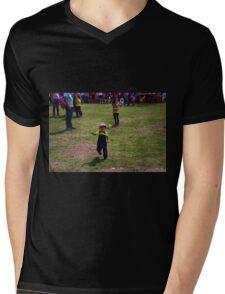 Cuenca Kids 863 Mens V-Neck T-Shirt