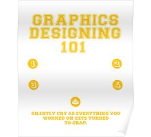 Graphics Designing Sarcastic Funny Poster