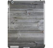 wood texture - wooden background 1 iPad Case/Skin