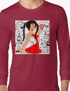 Lolita girl Long Sleeve T-Shirt