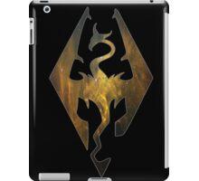 Gold Galaxy Seal of Akatosh 1 iPad Case/Skin