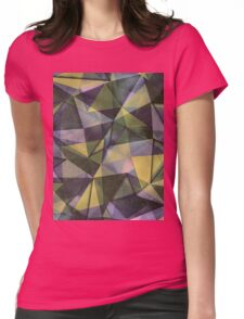 Green pastel Womens Fitted T-Shirt