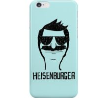 Breaking Bob Heisenburger shirt iPhone Case/Skin